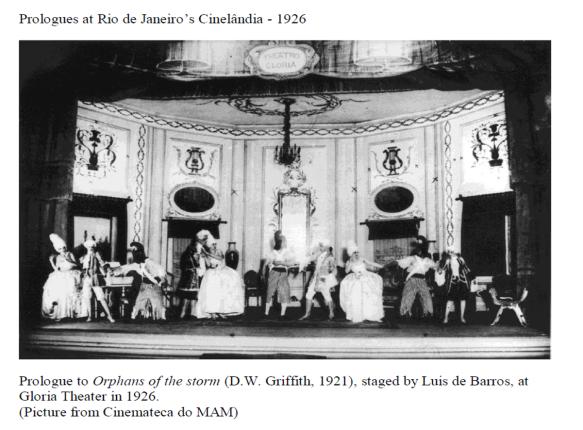 Prologues at Rio de Janeiro's Cinelandia_1926